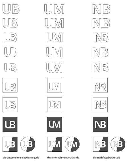 Herleitung Logos für ADVA BERATER