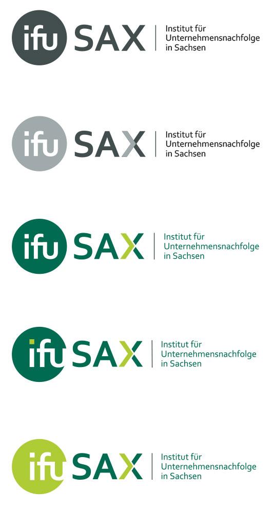 Institut für Unternehmensnachfolge in Sachsen - ifuSAX e.V. Logo-Entwicklung