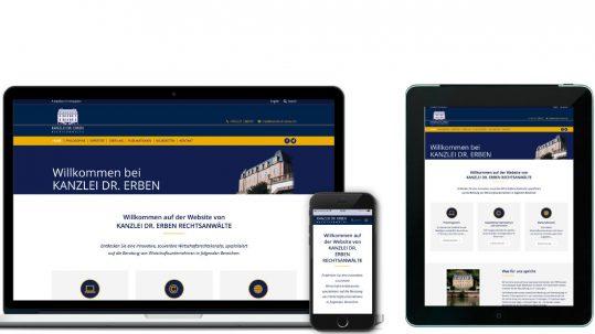 Kanzlei Website