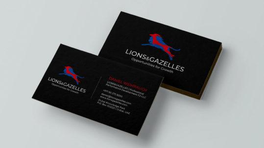 Lions & Gazelles Design Relaunch