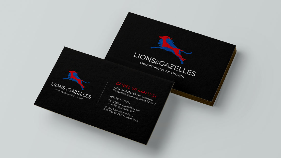 Lions & Gazelles Design Relaunch