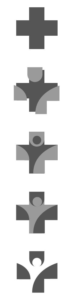 Herleitung Bildmarke Arztpraxis Neugründung