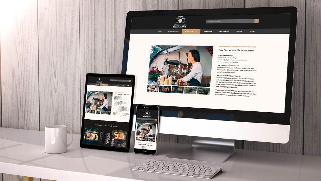 Webdesign Corporate Design Kompetenz