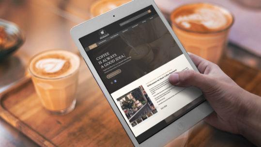 Black Coffee Pharmacy Relaunch web