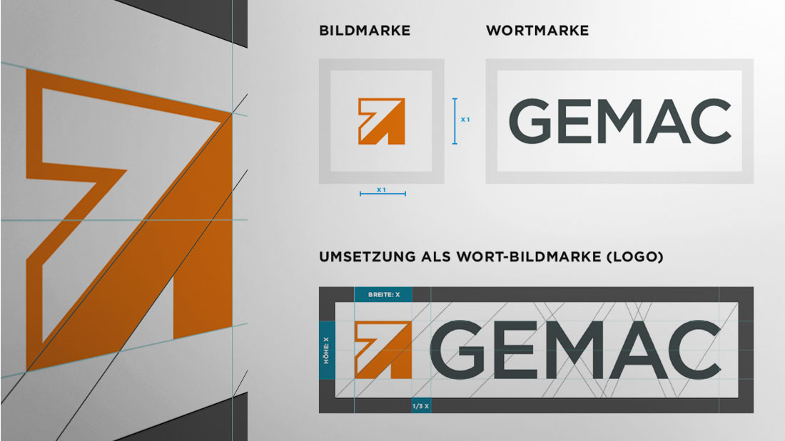 Corporate Identity GEMAC CHEMNITZ