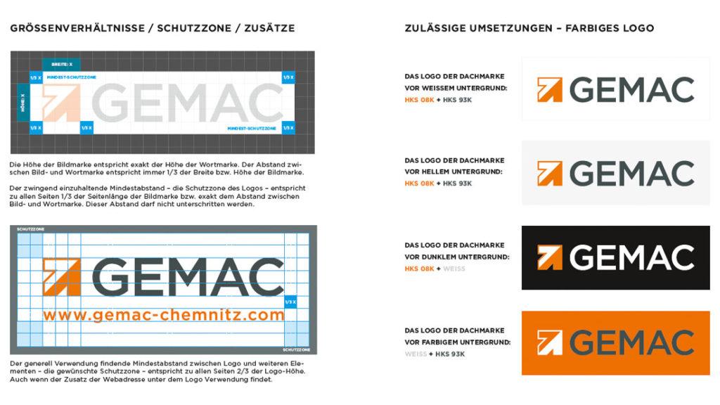Marken-Relaunch GEMAC CHEMNITZ
