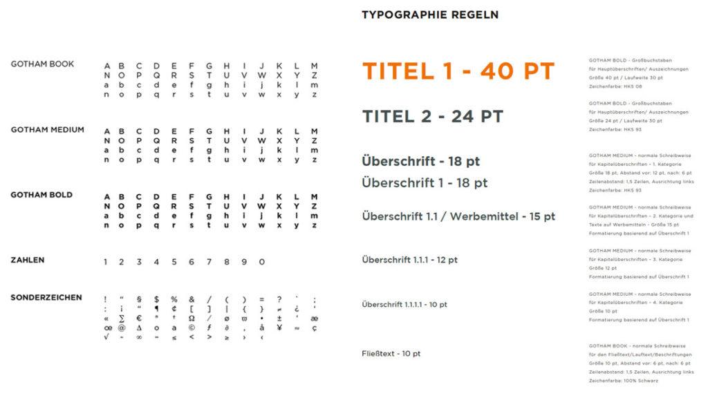 Typografie GEMAC CHEMNITZ