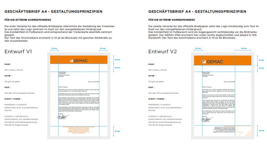 Briefpapier GEMAC CHEMNITZ