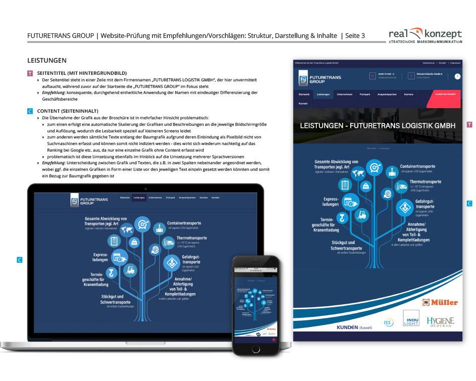 Futuretrans MSP Spedition